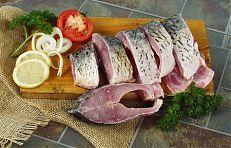Podkovy - porce ryby ve tvaru podkovy